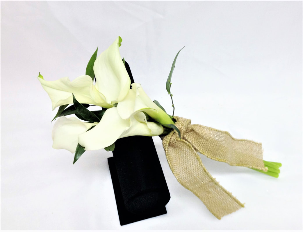Small White Calla Bouquet