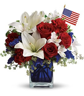 America The Beautiful by Teleflora - Standard