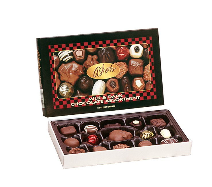 Asher's Chocolates Box