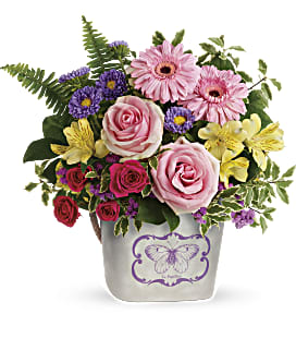 Teleflora's Backyard Butterfly Bouquet - Standard