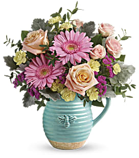 Teleflora's Bee Delighted Bouquet - Standard