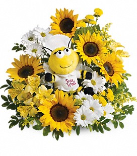 Teleflora's Bee Well Bouquet - Premium