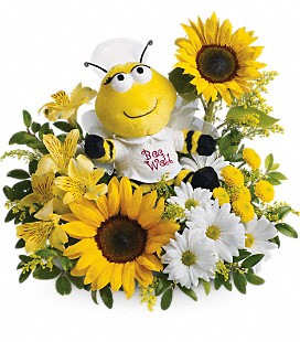Teleflora's Bee Well Bouquet - Standard