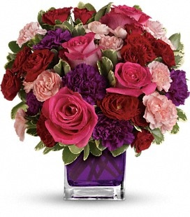 Bejeweled Beauty by Teleflora - Deluxe