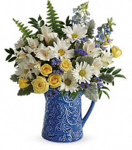 Teleflora's Bright Skies Bouquet - Standard
