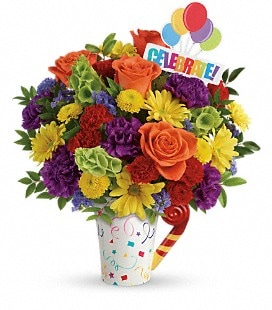 Teleflora's Celebrate You Bouquet - Deluxe