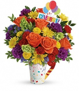 Teleflora's Celebrate You Bouquet - Premium