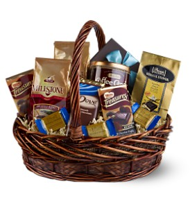 Chocolate and Coffee Basket
