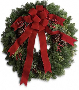 Classic Holiday Wreath - Deluxe