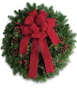 Classic Holiday Wreath - Standard