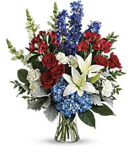Colorful Tribute Bouquet - Deluxe