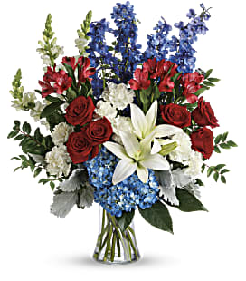 Colorful Tribute Bouquet - Premium