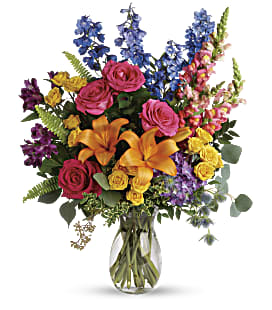 Colors Of The Rainbow Bouquet - Premium