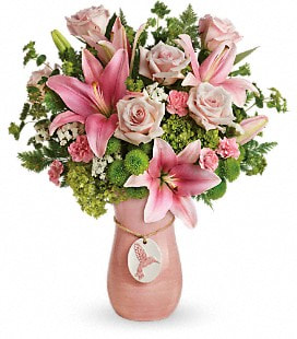 Teleflora's Elegance In Flight Bouquet - Deluxe