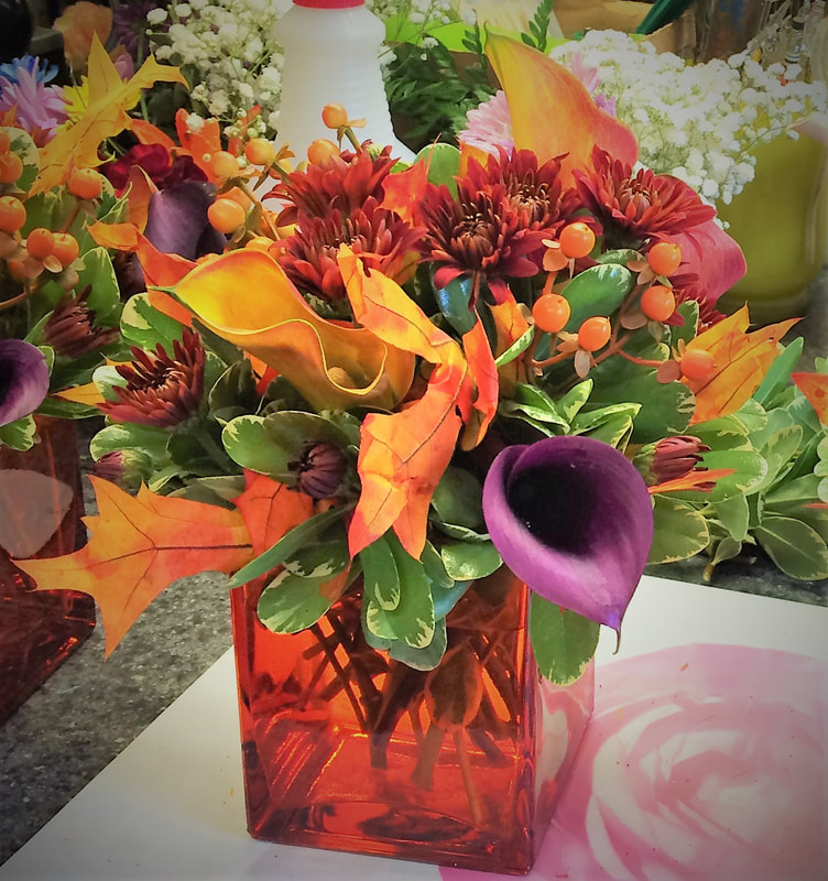 Fall cube arrangement