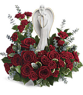 Forever Our Angel Bouquet - Deluxe