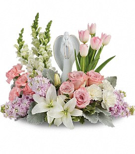 Teleflora's Garden Of Hope Bouquet - Deluxe