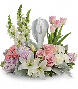 Teleflora's Garden Of Hope Bouquet - Standard