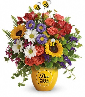Teleflora's Garden of Wellness Bouquet - Deluxe