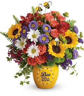 Teleflora's Garden of Wellness Bouquet - Premium