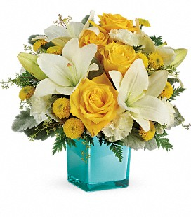 Teleflora's Golden Laughter Bouquet - Deluxe