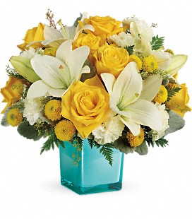 Teleflora's Golden Laughter Bouquet - Premium