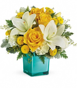 Teleflora's Golden Laughter Bouquet - Standard