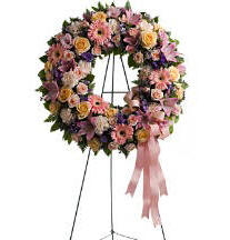 Graceful Wreath from Teleflora