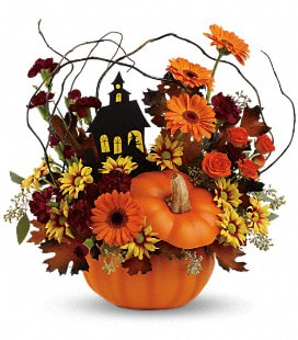 Teleflora's Haunted House Bouquet - Deluxe