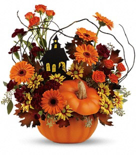 Teleflora's Haunted House Bouquet -Premium