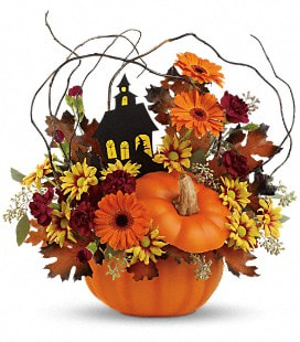 Teleflora's Haunted House Bouquet - Standard