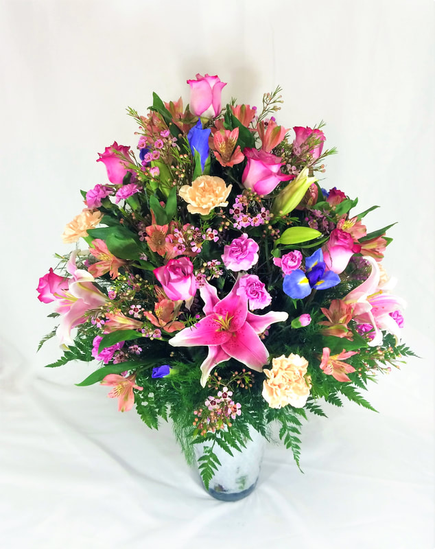 Big pastel arrangement