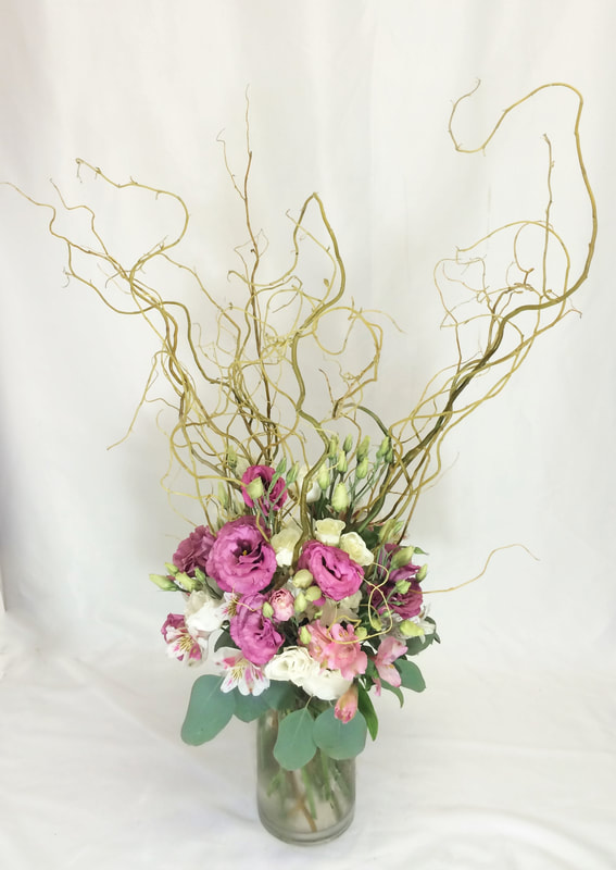 Tall Centerpiece with sticks