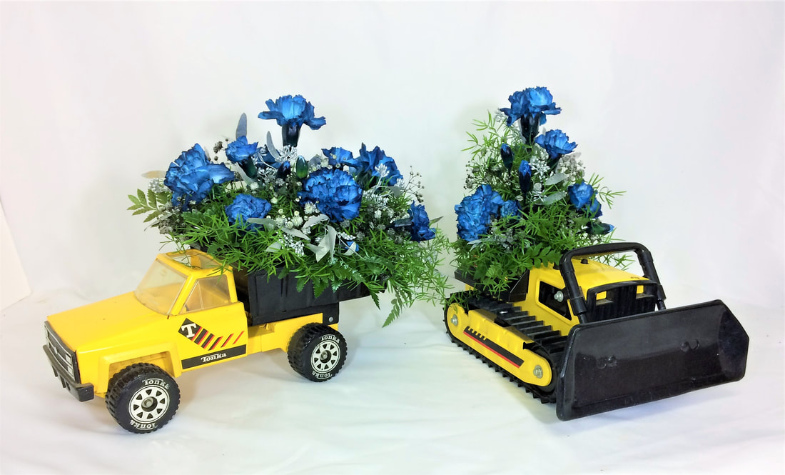 Tonka Truck Arrangements