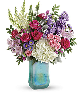 Teleflora's Iridescent Beauty Bouquet - Deluxe