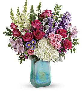 Teleflora's Iridescent Beauty Bouquet - Premium