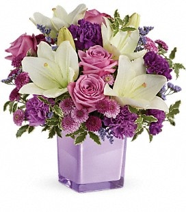 Teleflora's Pleasing Purple Bouquet - Deluxe