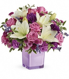 Teleflora's Pleasing Purple Bouquet - Premium