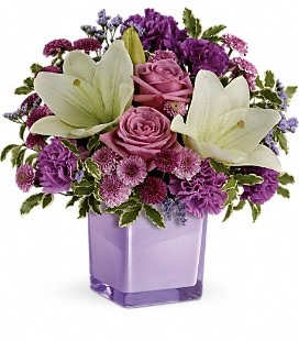 Teleflora's Pleasing Purple Bouquet - Standard