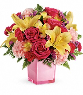 Teleflora's Pop Of Fun Bouquet - Deluxe