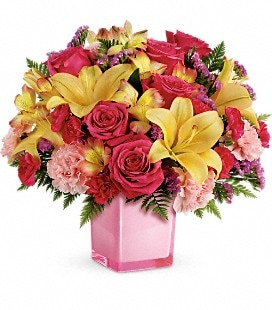 Teleflora's Pop Of Fun Bouquet - Premium