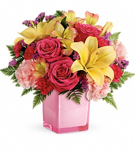 Teleflora's Pop Of Fun Bouquet - Standard