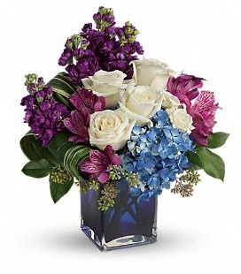 Teleflora's Portrait In Purple - Deluxe