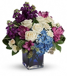 Teleflora's Portrait In Purple - Premium