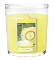 Old fashioned lemonade 22oz Oval Candle Jar