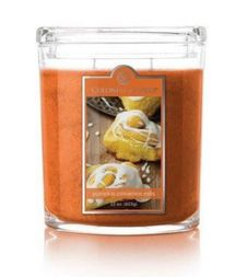Pumpkin Cinnamon Rolls 22oz Oval Candle Jar