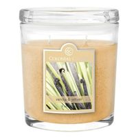 Vanilla and Vetiver 8oz Oval Candle Jar