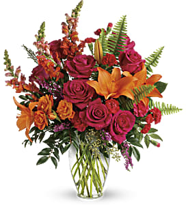 Punch Of Color Bouquet - Premium