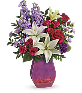 Teleflora's Regal Blossoms Bouquet - Deluxe