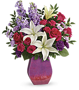 Teleflora's Regal Blossoms Bouquet - Premium